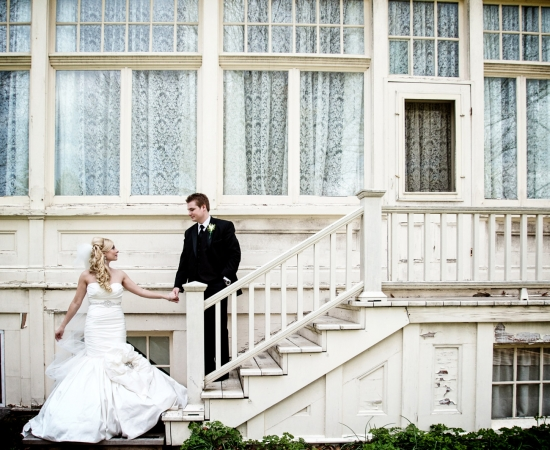Spadina House Museum wedding portraits Toronto