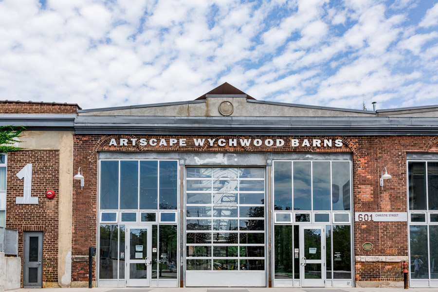 Artscape Wychwood Barns Wedding Venue view from front